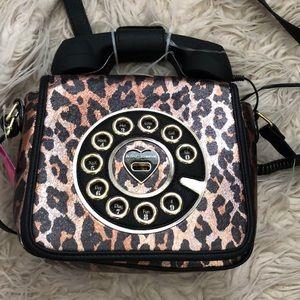 Handbags - Betsey Johnson Retro Phone Purse